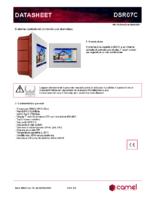 Datasheet DSR07C
